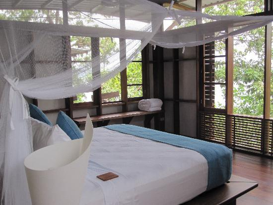 Jicaro Island Ecolodge Granada : The lovely bedroom