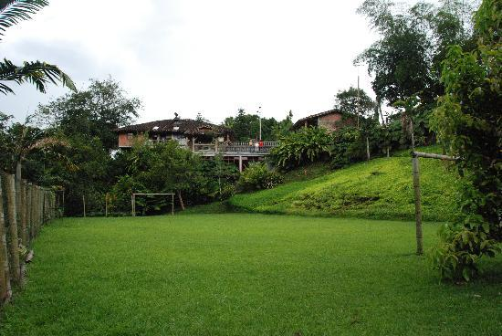 Finca Villa Martha: football area