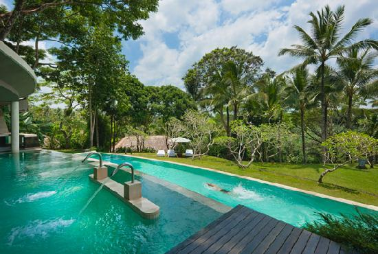 COMO Shambhala Estate: Lap Pool and Vitality Pool