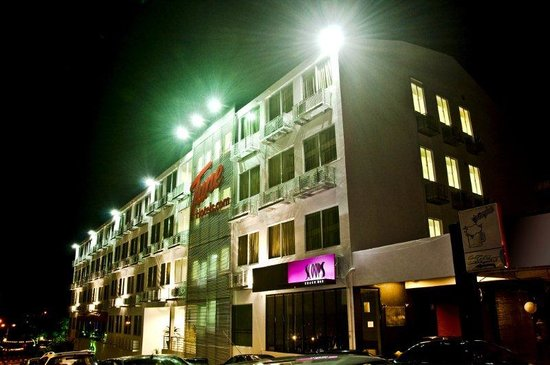Tune Hotel Waterfront Kuching - Frontview