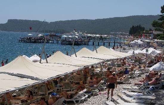 Novia Gelidonya Hotel: la plage