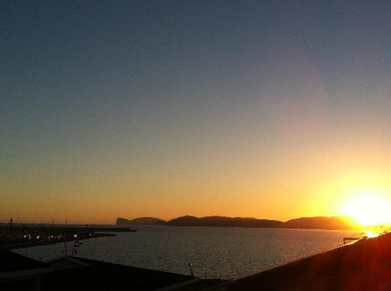 Alghero Ramblas Bed and Breakfast: seaview from 2nd terrace