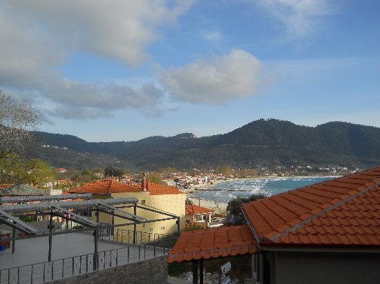 Ntinas Filoxenia: the rooms view