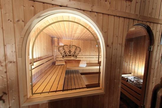 Carlton Hotel: sauna