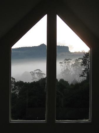 The Drawing Rooms of Berry: misty morning view to Drawing Rooms from our bed