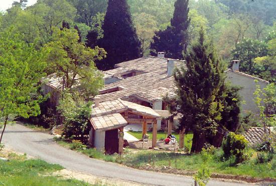 La Sauzette: Entrée du Domaine