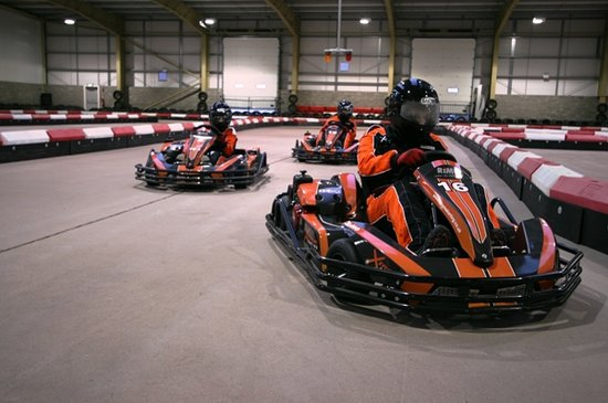 Xtreme Karting and Combat Edinburgh: Racing Action