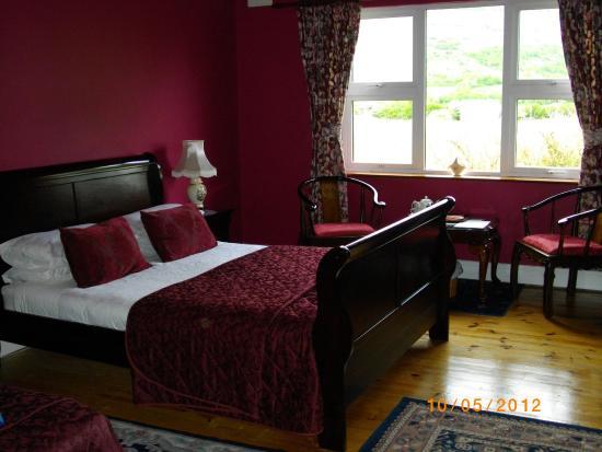 Cappabhaile House: Our room