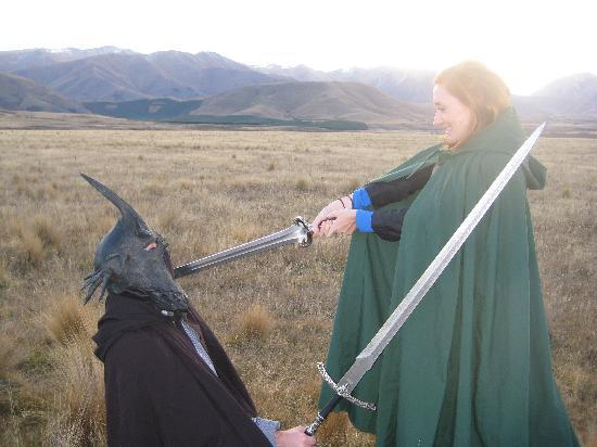 Lord of the Rings Twizel Tour: I am no man!