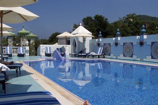 Terme Manzi Hotel & Spa : piscina sulla terrazza