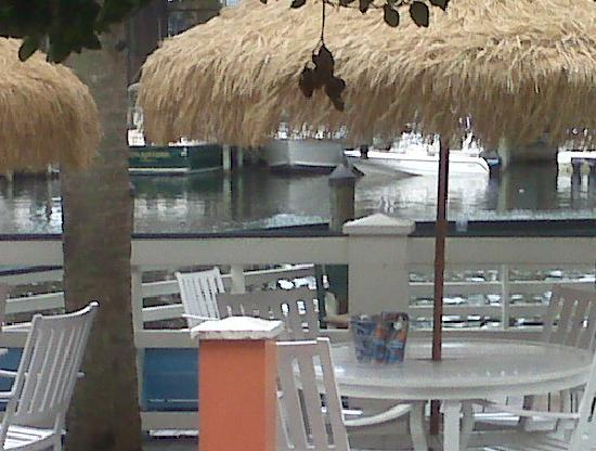 Calypso Joe S Caribbean Grille Marina And Seating View