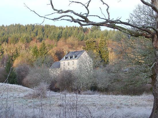Chez Jallot on a frosty morning