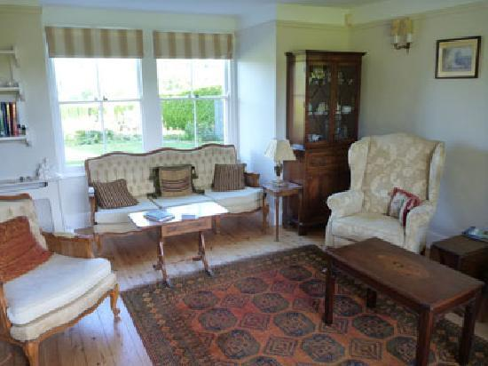 Crockerton House: sitting room