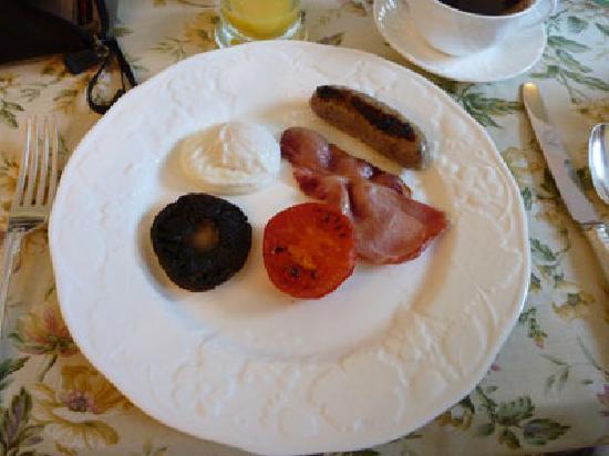 Crockerton House: breakfast
