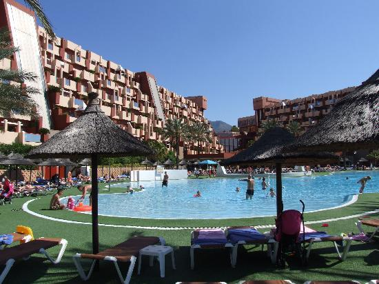 Holiday Village: View from the side of the pool
