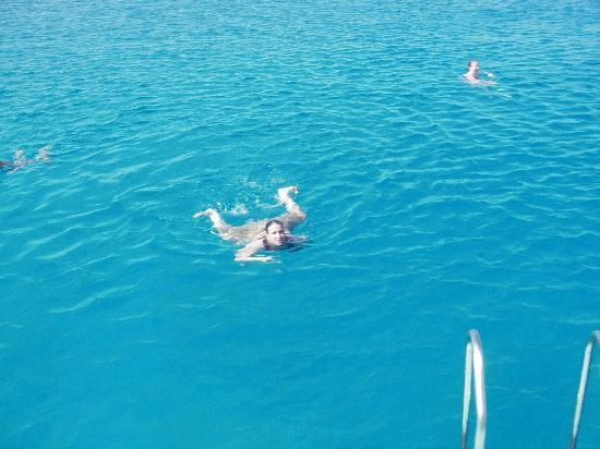 Golden Coast Beach Hotel : Aphrodite boat trip. FANTASTIC