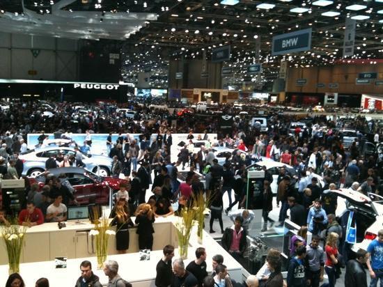 Geneva, Switzerland: женевский автосалон