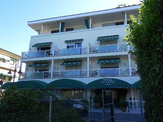 Hotel Suisse: Facciata albergo