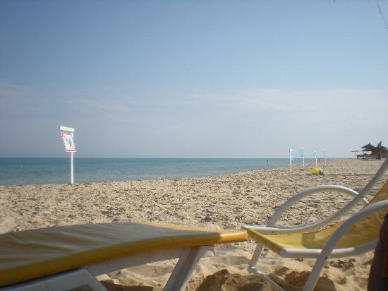 Hotel el Fell: la plage