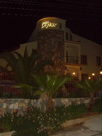Leytur Hotel, Entrance, Night