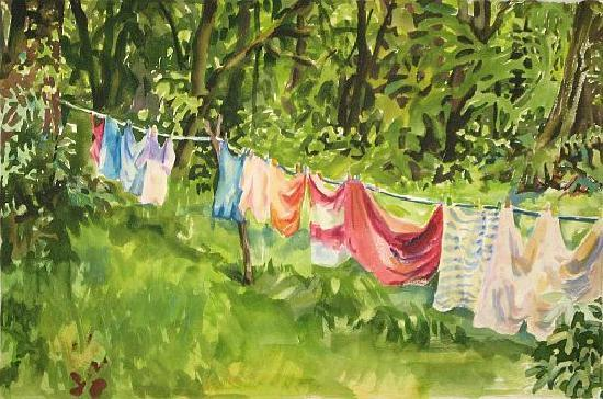 Sarah's Gallery: Clothes Line