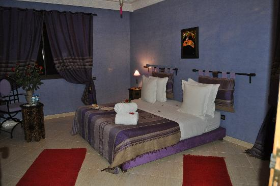 Dar Selwan Wellness & Spa : La chambre Morjana