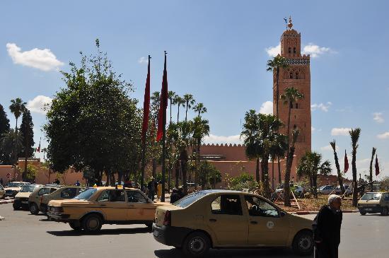 Dar Selwan Wellness & Spa : Minaret de la Koutoubia