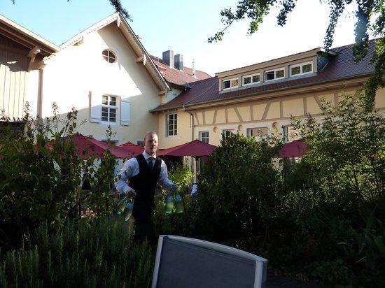 L.A. Jordan: Schöner Garten mit Terasse