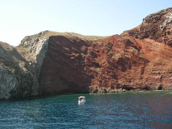 Capraia Isola, Italy: Cala Rossa