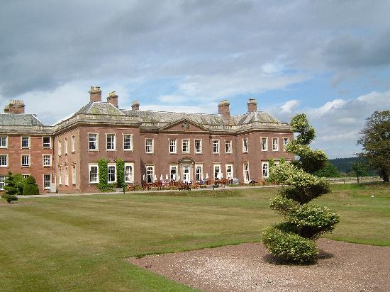Holme Lacy, UK: Back view