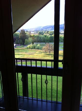 Le Puy A Wine Valley Inn: view from our window at AIR