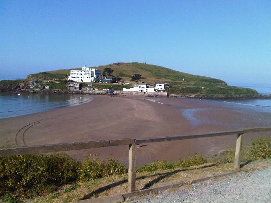 Bigbury-on-Sea, UK: view burgh island