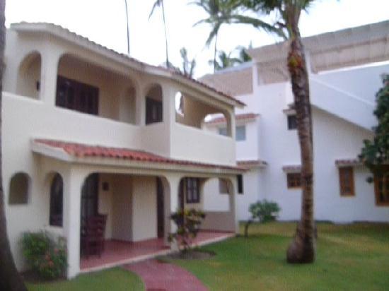Villas Los Corales: vista del apartamento con super terraza privada al mar