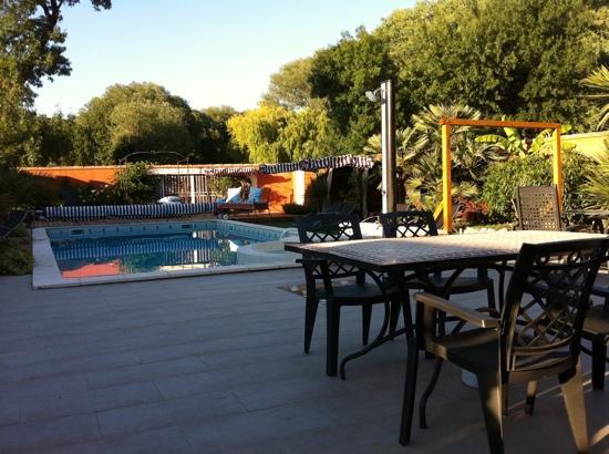 Le Patio 34 : pool area