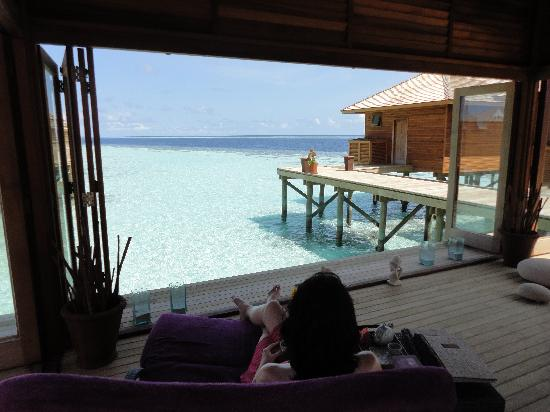 Vilamendhoo Island Resort & Spa: spa