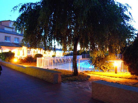 Le Rabelais Hôtel -Restaurant -SPA : Piscine Parc