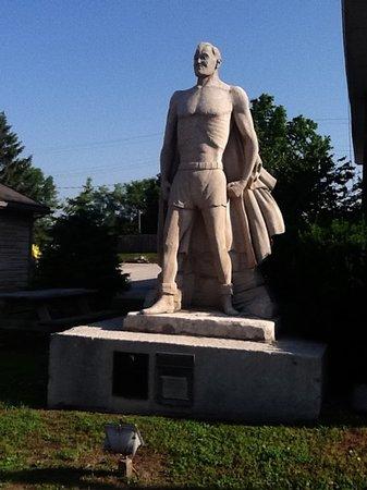 Joe Palooka Statue