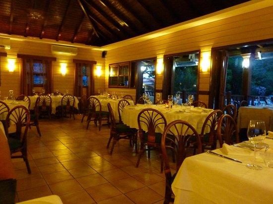 Spiga Restaurant:                   Indoor Seating