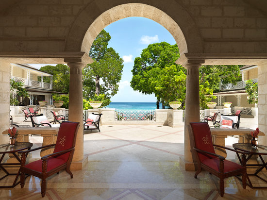 Sandy Lane Hotel: Sandy Lane Reception