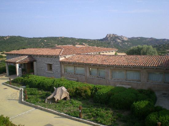 Hotel Li Finistreddi: vista dal balconcino