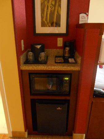 Courtyard by Marriott St. Augustine I-95: Microwave and mini fridge