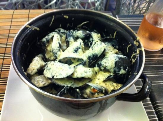 Red Sea : mussels were fantastic