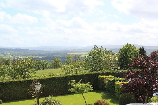 Roundthorn Country House: The view from our room