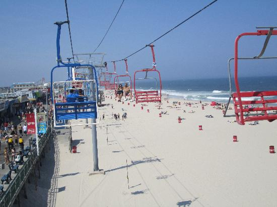 Toms River, Nueva Jersey: Seaside Heights sky ride 10 min. away