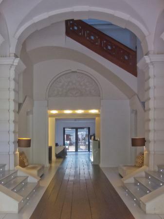 Hospes Palau de la Mar Hotel : The hotel lobby