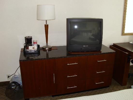 Ramada Fishkill: tv and dresser