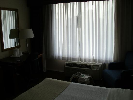 Ramada Fishkill: window and desk