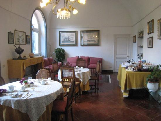 B&B Villa Ocsia : Breakfast room