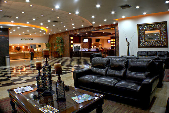 Hotel Ticuan: LOBBY AREA