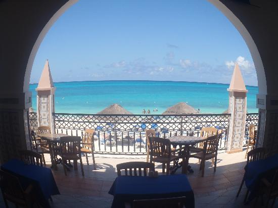 Hotel Riu Cancun: Vista desde restaurante